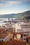 Vista de los tejados de Trieste Imágenes de archivo libres de regalías