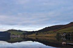 Vista de los valles, districto máximo, Inglaterra. Foto de archivo libre de regalías