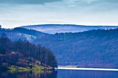 Vista de los valles, districto máximo, Inglaterra. Fotos de archivo