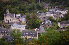 Vista de Luxemburgo Fotografía de archivo libre de regalías