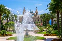 Vista de Mônaco. França Imagem de Stock