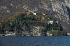Vista de Malgrate Foto de archivo