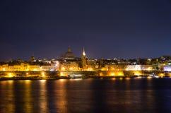Vista de Malta Imágenes de archivo libres de regalías