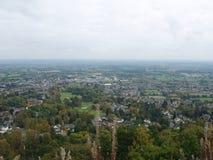 Vista de Malvern Worcestershire Inglaterra Imagen de archivo
