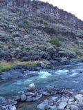 Vista de Manby Hot Springs imagem de stock
