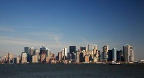 Vista de Manhattan Imágenes de archivo libres de regalías