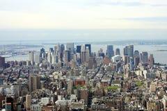 Vista de Manhattan Imagenes de archivo