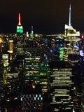 Vista de Manhattan del centro de Rockefeller Fotos de archivo libres de regalías
