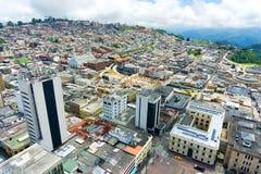 Vista de Manizales, Colombia Fotografía de archivo libre de regalías