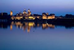 Vista de Mantova en Italia Fotos de archivo libres de regalías