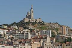 Vista de Marsella en Francia del sur Fotos de archivo
