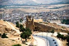 Vista de Medina, Fes, Marruecos Fotografía de archivo