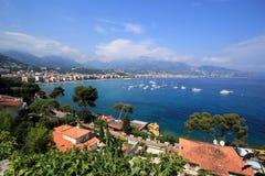 Vista de Menton, France Imagens de Stock