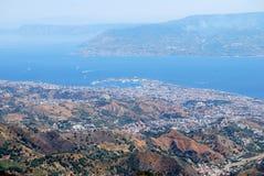 Vista de Messina Imagem de Stock Royalty Free