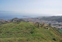 Vista de Messina Fotos de Stock