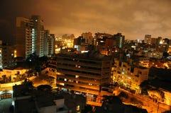 Vista de Miraflores em Lima por foto de stock royalty free