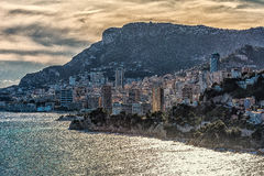 Vista de Monaco Fotografia de Stock Royalty Free