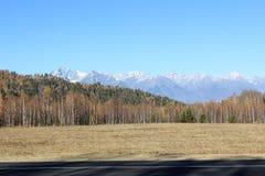 Vista de montañas Fotos de archivo libres de regalías