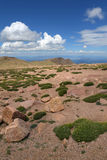 Vista de montanhas de Colorado Fotos de Stock Royalty Free
