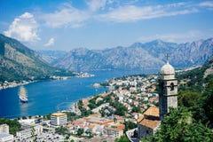 A vista de Montenegro fotografia de stock royalty free
