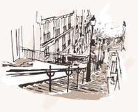vista de Montmartre en París Fotos de archivo