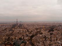 A vista de Montparnasse Fotos de Stock