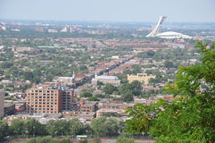 Vista de Montreal Imagen de archivo libre de regalías