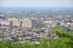 Vista de Montreal Fotografía de archivo libre de regalías