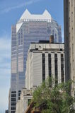 Vista de Montreal da baixa Fotografia de Stock Royalty Free