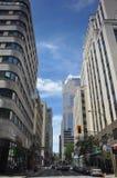 Vista de Montreal da baixa Fotos de Stock Royalty Free