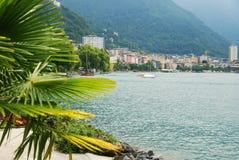 Vista de Montreux. Foto de archivo