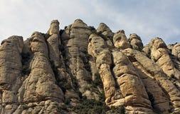 Vista de Montserrat fotos de stock royalty free