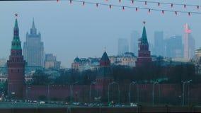 Vista de Moscovo vídeos de arquivo