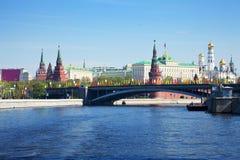 Vista de Moscovo Kremlin Foto de Stock