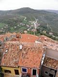 A vista de Motovun, Istria, Croácia fotos de stock royalty free