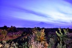 Vista de Mout Ararat de Armenia foto de archivo libre de regalías