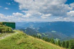 Vista de Mt Blegos Fotografia de Stock Royalty Free