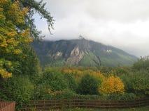 Vista de Mt Si de Snoqualmie, WASHINGTON imagen de archivo