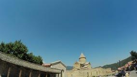 Vista de Mtskheta Georgia metrajes