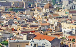 Vista de muitos telhados Fotografia de Stock Royalty Free