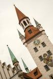 Vista de Munchen da torre do St Peter Fotos de Stock