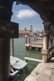 Vista de Murano, Venecia, Italia Foto de archivo
