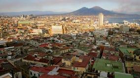 Vista de Nápoles Fotografía de archivo libre de regalías