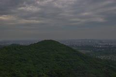 Vista de Nanjing foto de stock