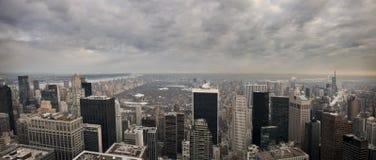 Vista de New York City Imagen de archivo