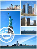 Vista de New York City Fotografia de Stock Royalty Free