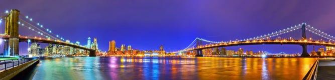 Vista de New York City Foto de archivo