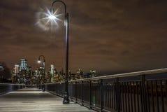 Vista de New York City de New Jersey Foto de archivo libre de regalías