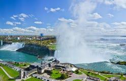 Vista de Niagara Falls Fotos de Stock Royalty Free