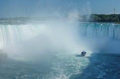 Vista de Niagara Falls del lado canadiense imagen de archivo libre de regalías